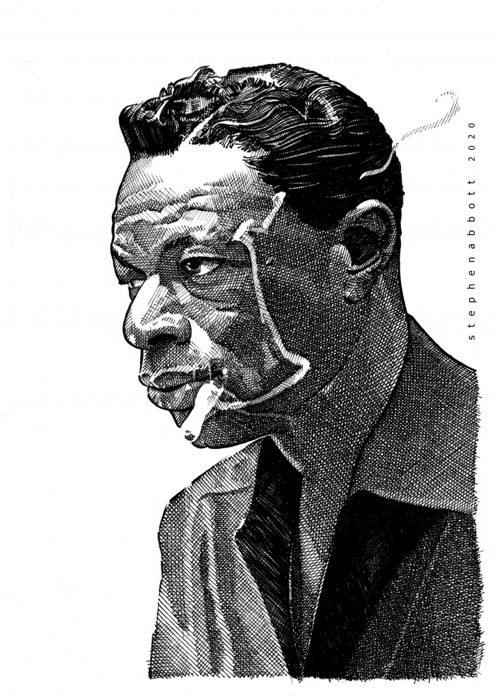 Nat King Cole by Stefanosart